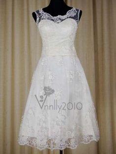 short lacy dress