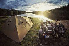 Wild camp Finland