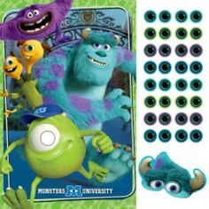 Monsters University Party Game - Party City