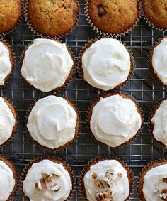 Carrot Cake Cupcakes | Joy the Baker