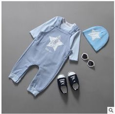 378cf3d75 baby boy girl clothes Picture - More Detailed Picture about Baby clothing  Dyed cotton baby five stars with hat 3 pieces baby suits Baby boys girls  clothes ...