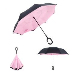 Re-fordable Umbrella UV cut 80cm 8 bones Strong /& no wet in the car