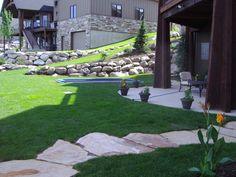 Landscaping in Draper Utah in Steeplechase
