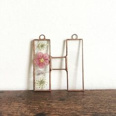 Pressed Flowers and Leaves in Stained Glass - including Custom...