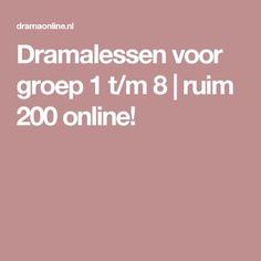Dramalessen voor groep 1 t/m 8 | ruim 200 online!