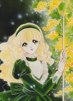 """アルペンローゼ 赤石路代 - Art from """"Alpine Rose"""" series by manga artist Michiyo Akaishi. Real Anime, Old Anime, Manga Anime, Manga Girl, Anime Art Girl, Character Art, Character Design, Anime Princess, Manga Artist"""