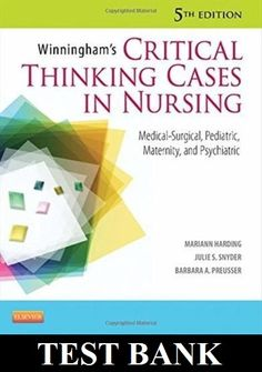 Download online test bank for maternal child nursing 4th edition by winninghams critical thinking cases in nursing medical surgical pediatric maternity and psychiatric 5th edition harding test bank fandeluxe Image collections