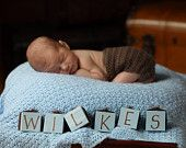 Cute idea for new baby photography
