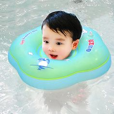 Activity & Gear 1pcs Neck Float Swimming Newborn Baby Swimming Neck Ring With Pump Gift Mattress Cartoon Pool Swim Ring 0-2 Years Old Baby Swimming Pool & Accessories