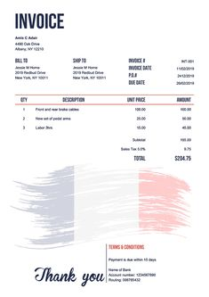 Invoice Template 100 Templates to Choose from, Invoice