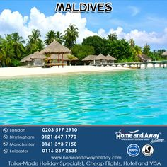 Maldives Holidays, Blue Lagoon, Leicester, Home And Away, Continents, Birmingham, Manchester, Beaches, Indian