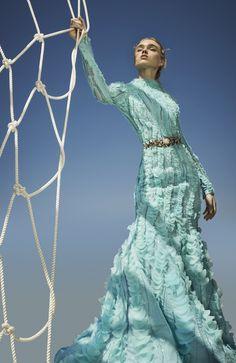 First View: Saiid Kobeisy Fall 2017 Couture - Vogue Arabia