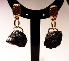 Coal and gold www.handmade-ja.com