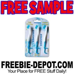 ►► FREE SAMPLE - Brushee Pocket Sized Disposable Toothbrush ►► #Free, #FREESample, #FREEStuff, #Freebie, #FrugalFind, #Sample ►►