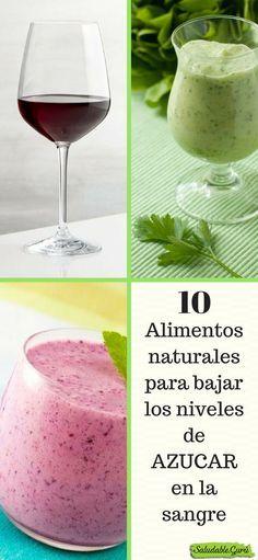 10 Alimentos naturales para bajar los niveles de AZUCAR en la sangre.#saludable #salud #batido #jugo #smoothie #glucemia #glucosa #energia #celulas #sangre #arandanos #tofu #jengibre #canela #manzanilla #papaya #frutilla #fresa #espinaca #apio #pepino #manzanaverde