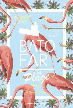 BATOFAR / IBOAT —Date : juin 2013 —Client : I.boat & Batofar Conception et réalisation des supports de communication d'été des deux bateaux culturels, respectivement amarrés à Paris et Bordeaux. Graphisme, édition.
