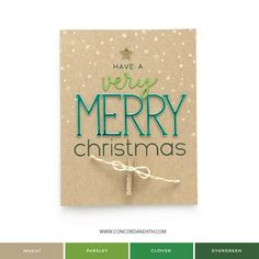 Very Merry Christmas, Christmas Diy, Christmas Cards, Let It Snow, Let It Be, Concord And 9th, New Sign, Christmas Inspiration, Holiday Cards