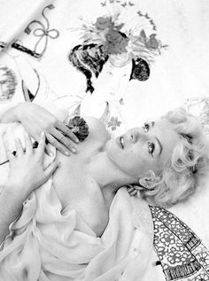 Marilyn. Photo by Cecil Beaton, 1956.