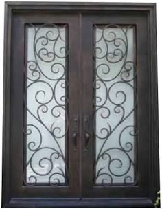 Wooden French Doors Exterior Google Search In 2020 Iron Doors
