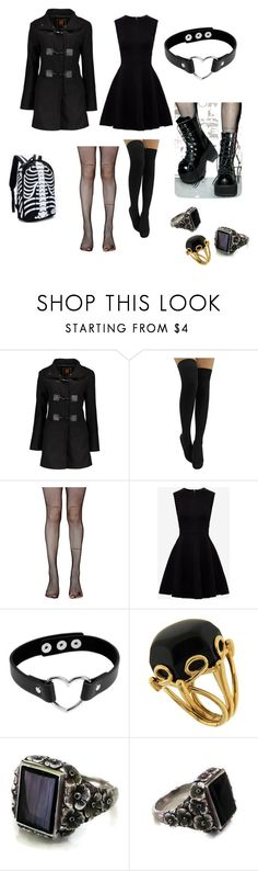 """""""Untitled #17"""" by letitiaoltean on Polyvore featuring Music Legs, Ted Baker, Valentin Magro and plus size clothing"""