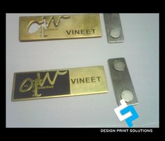 Pin by Pankaj Jha on Name Badge Makers Delhi | Badge maker, Name