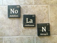 Family name state sign minnesota wedding gift anniversary wood name sign periodic table kids name sign family name custom kids sign periodic table elements baby shower gift wall mounted kids name sign urtaz Image collections