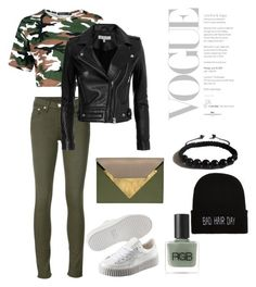 Camo by anjelicadeweese on Polyvore featuring polyvore, fashion, style, IRO, rag & bone/JEAN, Puma, Dareen Hakim, Shamballa Jewels, RGB and clothing