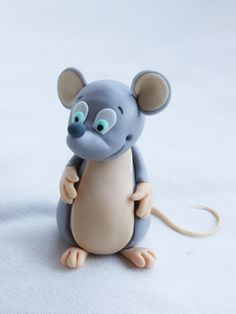Mouse Cake Topper Step-by-Step Tutorial