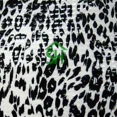 leopard pattern on a Clear Foil on Non Stretch Fabric. Leopard Print Fabric, Garment District, Animal Print Rug, Shopping, Number, Style, Swag, Outfits