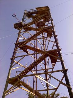 Outdoor Stairs, Utility Pole, Tower, Zip, Image, Rook, Computer Case, Exterior Stairs, Outside Stairs