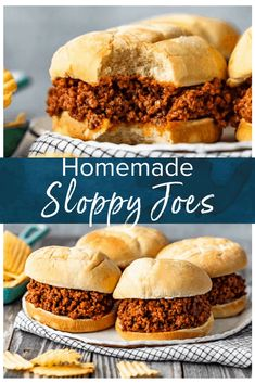 Homemade Sloppy Joes are the perfect thing to make for easy dinners this summer. Make the best sloppy joe sauce, add beef, and voila! Learn how to make sloppy joes from scratch and enjoy these messy sandwiches any night of the week. Yum! #thecookierookie #sloppyjoes #sandwich #summerrecipes Homemade Sloppy Joe Mix, Best Sloppy Joe Recipe, Easy Summer Meals, Summer Recipes, Easy Dinners, Homemade Dinners, Sloppy Joes From Scratch, Slow Cooker Sloppy Joes, Entree Recipes