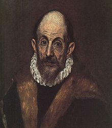 """El Greco, Painter, sculptor and architect, (1541-1614) Spanish.  From the Spanish Renaissance, """"El Greco"""" (The Greek) was a nickname,[a][b] a reference to his national Greek origin, and the artist normally signed his paintings with his full birth name in Greek letters, Δομήνικος."""
