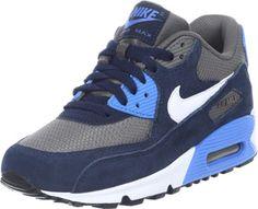 565c666d33d97a Nike Air Max 90 Youth GS blue grey