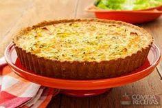 Receita de Quiche leve de cream craker e legumes em receitas de tortas salgadas, veja essa e outras receitas aqui!
