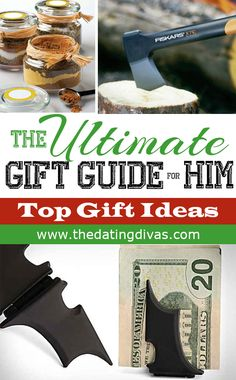 The ULTIMATE Christmas Gift Guide for HIM! Over 30 ideas that will make your man swoon on Christmas!