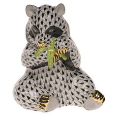 Herend Panda Figurine