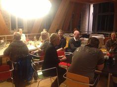 Spiser tortilla med driverne i #Århus