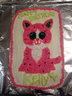 Beanie Boo Party, Beanie Boos, Beanie Babies, Adult Birthday Party, 3rd Birthday, Birthday Cakes, Birthday Ideas, Beanie Boo Birthdays, Brownie Cake