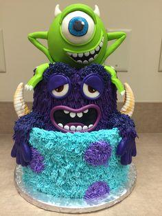 Monsters University Cake, by SugaRush Desserts, Elkhart Indiana