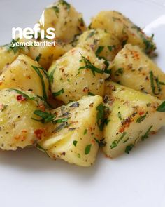 Buttered Potatoes - Delicious Recipes - dogalsoframm # tereyağlıpatates on the summer recipes summer recipes abendessen rezepte recipes recipes dessert recipes dinner Yummy Recipes, Healthy Salad Recipes, Healthy Foods To Eat, Healthy Snacks, Healthy Eating, Yummy Food, Vegetarian Salad, Vegetarian Recipes, Summer Grilling Recipes