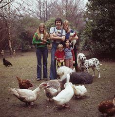 the McCartney clan, 1976. photo by David Montgomery