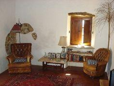 Santo Estevao farmhouse rental - Patio House, reading corners