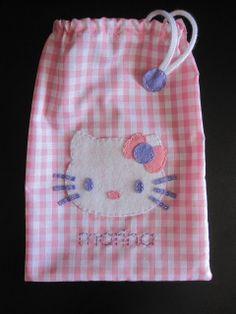 cocodrilova: bolsitas kitty y pocoyo