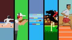 Jogos Olímpicos em 8 bits
