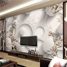 Frugal Beibehang Custom Wallpaper Home Decorated Living Room Bedroom Mural 3d Relief Large Orchid Tv Background Decorative 3d Wallpaper Strong Resistance To Heat And Hard Wearing Wallpapers