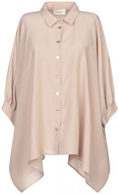 Vicolo Women Solid Color Shirts & Blouses on YOOX. The best online selection of Solid Color Shirts & Blouses Vicolo. Plus Size Fall Outfit, Plus Size Outfits, Girls Fashion Clothes, Fashion Outfits, Hijab Stile, Street Hijab Fashion, Fancy Tops, Stylish Dress Designs, Plus Size Kleidung