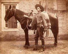 Texas Ranger Frank Smith, ca. 1888.