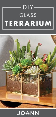 Greenery is great but with this DIY Glass Terrarium it's simply stunning! Check out this simple tutorial from JOANN to discover how you can bring bohemian charm to your home decor collection.