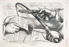 Thomas Nast cartoon on the Compromise of 1877.