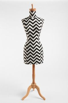 Zigzag Wood Base Dress Form  #UrbanOutfitters...wish this would go on sale!